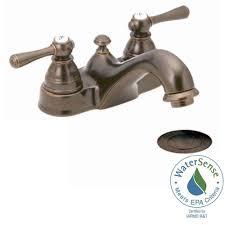 oil bronze bathroom faucets. Moen Rubbed Bronze Bathroom Faucets Kingsley 4 In Centerset 2 Oil A