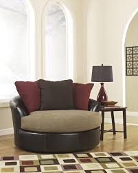 Leather Swivel Chairs For Living Room Small Swivel Chair Wall Creative Space Saving Bedroom Furniture