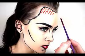 1eede42aa3a3e61b740e89eb3bed13f3 60ad0cdb55e7764967c4c34a57258960 pop art makeup tutorial emma pickles mugeek vidalondon pop art ic