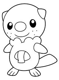 Pokemon Paradijs Kleurplaat Oshawott