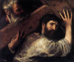 christ carrying the cross 1570 1575 titian
