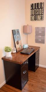 home office desk with locking drawers cool modern furniture