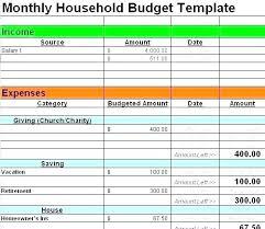 Household Expense Sheet Household Expense Sheet Template