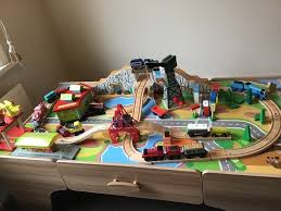 thomas tank engine wooden track trains and play table