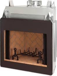superior masonry indoor wood burning fireplace