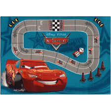 ... Wayfair Kids Carpet Rugs Cars 2 Racetrack Play Game 95x133 Cm Design:  Inspiring ...