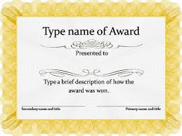 award certificates template gold award certificate template archery pinterest archery