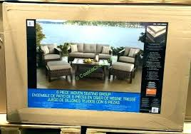 patio furniture international outdoor deep seating set box agio costco fire ama
