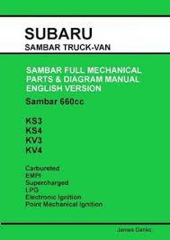 service manuals buckeye mini trucks the mini truck accessory store subaru sambar english parts diagram manual