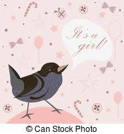 Announcement For Baby Girl Baby Girl Birth Announcement