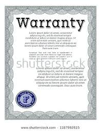 warranty template word download sample product warranty template certificate word agreement