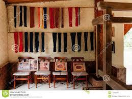 De Japanse Uitstekende Woonkamerstoelen En Stof Van De