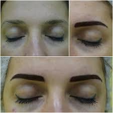 коррекция микроблейдинга бровей в днепре Makeup Ua