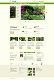 Small Picture Garden Design Responsive Joomla Template 48960