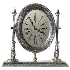 92 american reed and barton sterling silver waltham desk clock splendid american reed and barton sterling