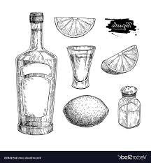 best free vintage glass cocktail shaker set vector pictures