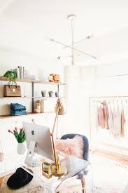 chic home office design home office. Livvyland-blog-olivia-watson-west-elm-home-office- Chic Home Office Design