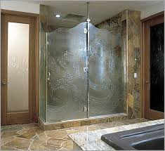 Partially Frosted Glass Shower Doors  Unique Shower Door Glass Plete Glass Shower  Doors Heavy Glass
