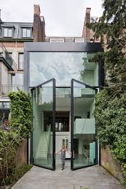 Contemporary House Extension Features The World's Largest Pivoting Doors