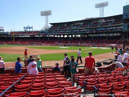 Fenway Park View From Dugout Box 72 Vivid Seats