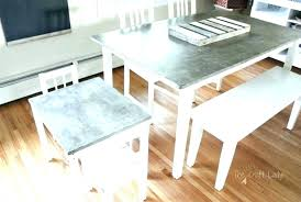 concrete table top for polished kitchen a step by tutorial to make round t concrete table