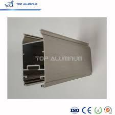 aluminium sliding door brushed grey