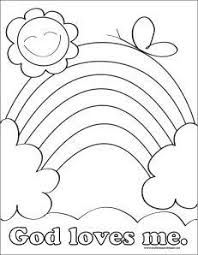 Coloring Pages For Toddlers Sunday School The Art Jinni