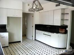 Mid Century Steel Kitchen Cabinets White ...