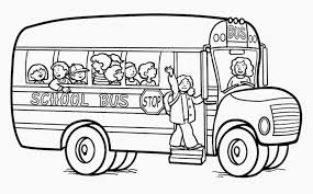 Small Picture School Bus Coloring Page Printable fablesfromthefriendscom