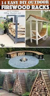 ... Indoor Firewood Racks Design: Fascinating Firewood Racks Design ...