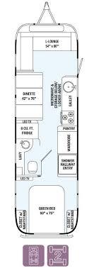 airstream floor plans. Airstream Floor Plans Awesome Land Yacht 28exterior Length 28 Exterior Width 8 Of 17