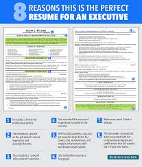 ideal resume for someone a lot of experience business insider perfect resume for an executive
