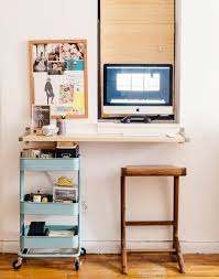 these 18 diy wall mounted desks are the