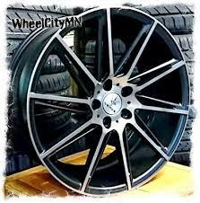 19x8 5 19x9 5 Staggered Black Verde V25 Quantum Rims Fits Bmw 760 850 5x120 15 Ebay