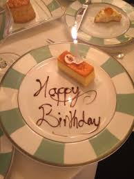 A Nice Touch To Bring A Birthday Cake Picture Of Afternoon Tea At