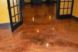 Residential Epoxy Flooring L Throughout Impressive Design