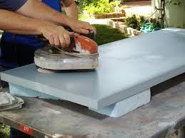 Creative Diy Countertops Concrete Countertop For A Workbench How Tos Diy