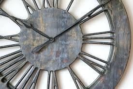 shabby chic skeleton clock extra large vintage wall clocks uk shabby chic skeleton clock extra large vintage wall clocks uk