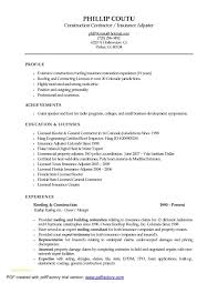 Life Insurance Agent Resume Or Insurance Cover Letter Choice Image