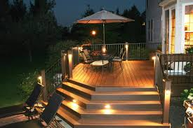 deck accent lighting. Build A Comfortable And Relaxation Zone On Your Garden Deck By Obtaining Some Unique Ideas. Accent Lighting N