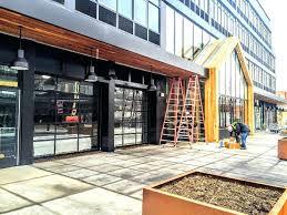 glass panel garage doors parking garage glass panel garage overhead roller sectional glass panel garage doors