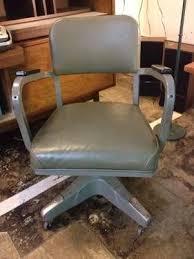 vintage metal office chair. Vintage Metal Mad Men Office Chair - $125 M