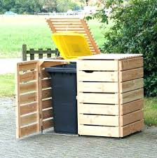 trash can shed plans outdoor trash can holder outdoor trash can trash can storage trash can