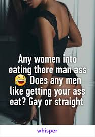 Women eating man ass
