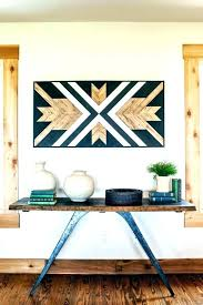 southwest wall decor metal art southwestern design designer pot cs outdoor