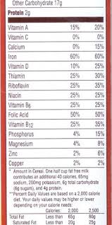 nutrition parison post honey bunches of oats fiber one intended for honey bunches of oats nutrition label