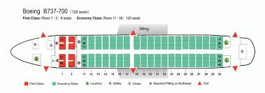 Boeing 737 700 Seating Chart United Air China Airlines Aircraft Seatmaps Airline Seating Maps