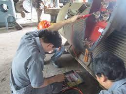 THÀNH TÂM MOTOR - BẢO TRÌ MOTOR AC 1250 KW - CÔNG TY POMINA 1 (2015)
