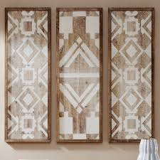 on antique white wood wall art with vintage white wood wall art set of 3
