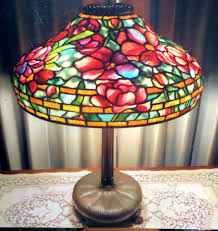 Painting Glass Lamps Art Antique Appraisal Appraiser